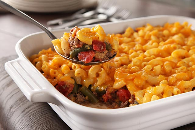 Cheesy Mac-Topped Casserole Image 1
