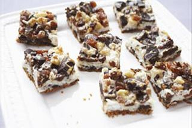 Chocolate Walnut Coconut Bars Image 1