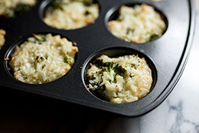 Rice, Broccoli 'n Cheese Cups