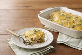 Cheesy Rice & Corn Casserole