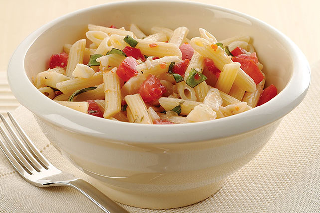 Easy Pasta Salad With Italian Dressing Recipe Image