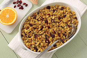 Toasted Walnut and Cranberry Stuffing