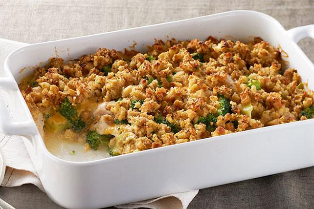 Best Chicken Broccoli Bake