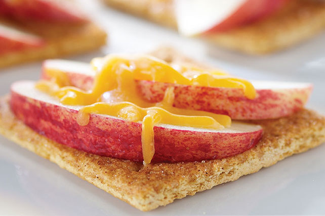 "Apple-Cheese ""Toasts"" Image 1"