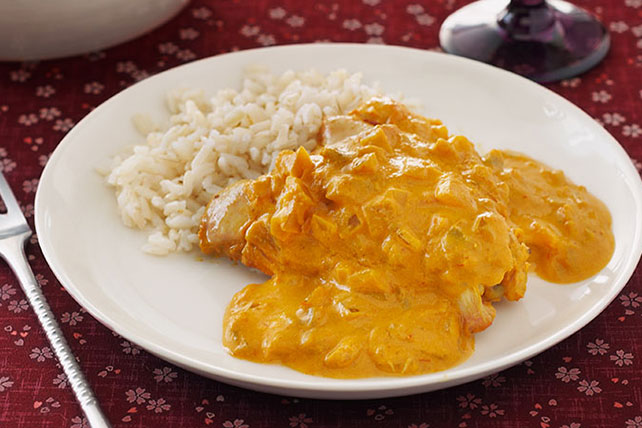 Slow cooker chicken curry kraft recipes slow cooker chicken curry forumfinder Image collections