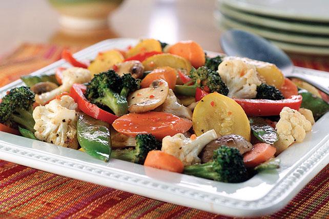 Sauté de légumes frais Image 1