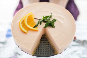 Gâteau au fromage de rêve à l'orange