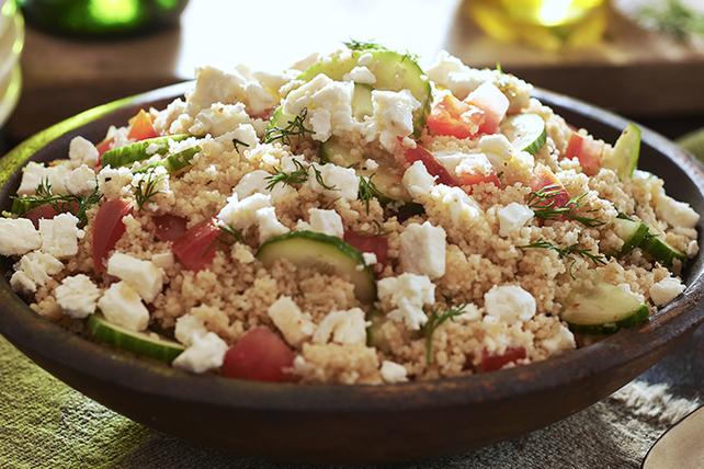 Salade de couscous à la grecque Image 1