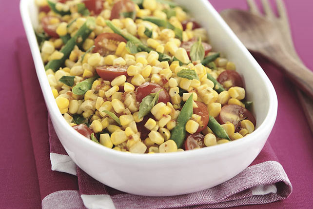 Fresh-from-the-Cob Corn Salad Image 1