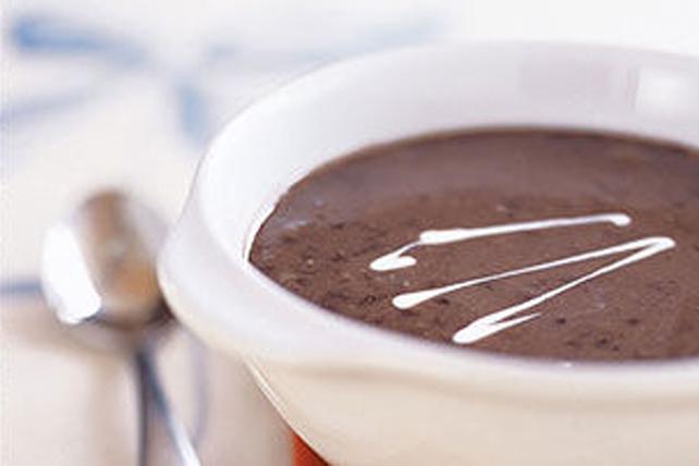 Soupe cubaine aux haricots noirs Image 1