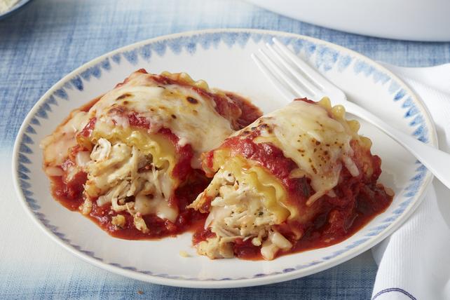 Rouleaux de lasagne épicés au poulet  Image 1