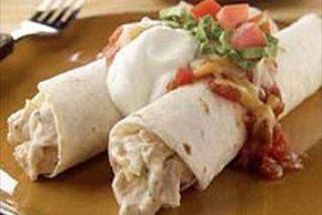 Chicken and Sour Cream Enchiladas