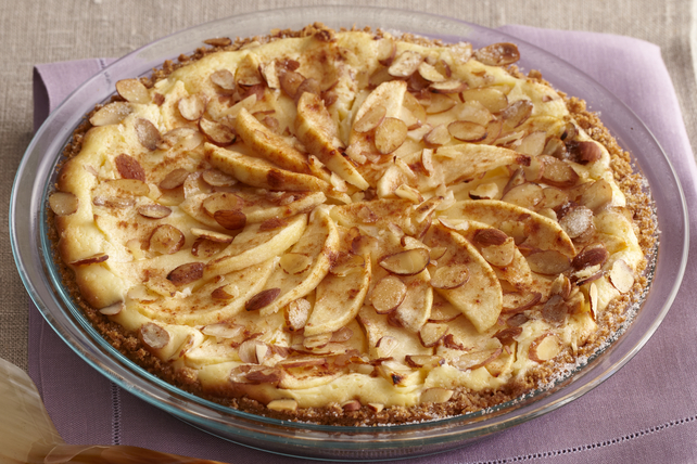 Fall Apple Bavarian Cheesecake Image 1