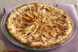 Bavarois au fromage et aux pommes d'automne