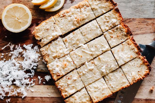Lemon Coconut Squares Image 1