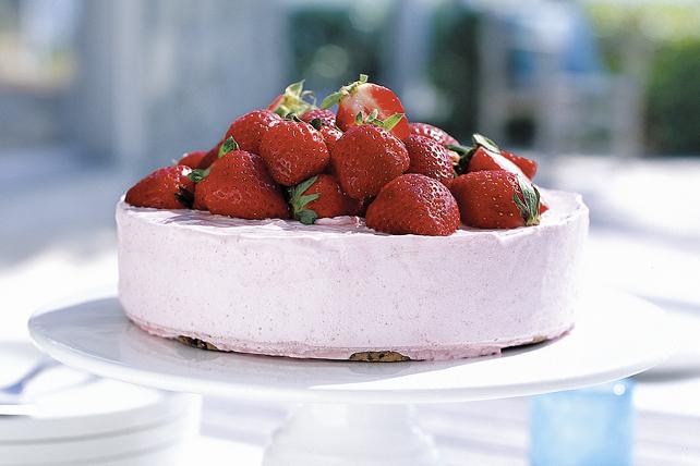 Dessert glacé aux fraises Image 1