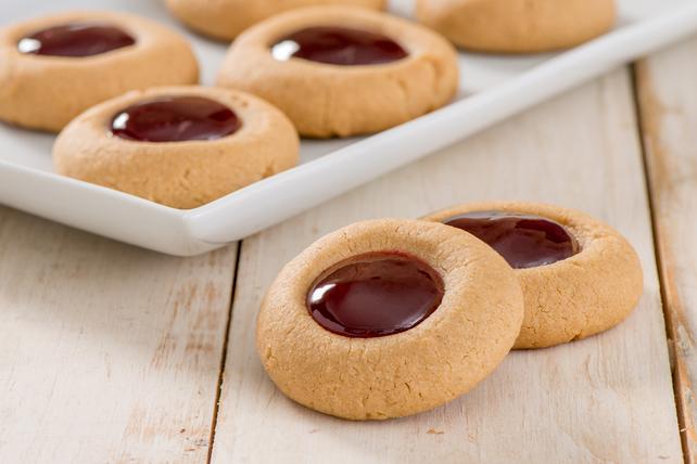 Biscuits Tom Pouce au beurre d'arachide et confiture Image 1