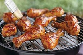 40-Minute Barbecued Chicken