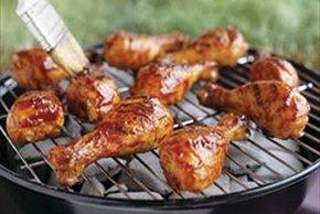 Pilons d'aile de poulet barbecue en 40minutes