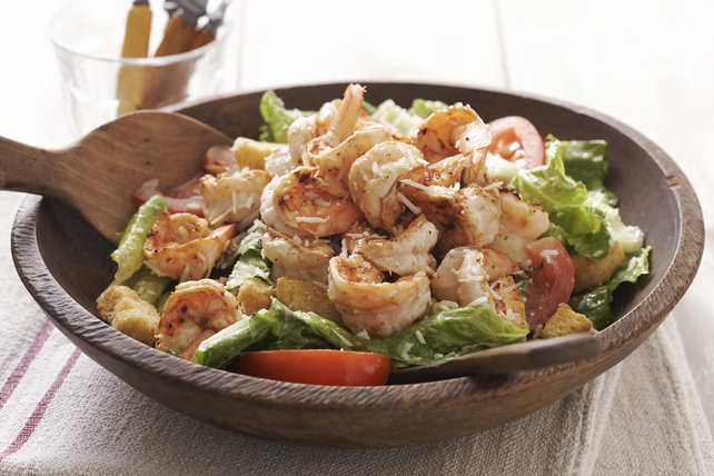 Salade César aux crevettes grillées Image 1