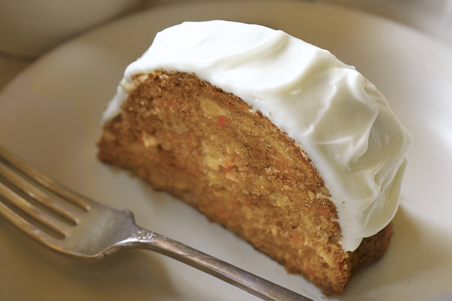 Our Favourite Carrot Cake with Cream Cheese Icing Image 1
