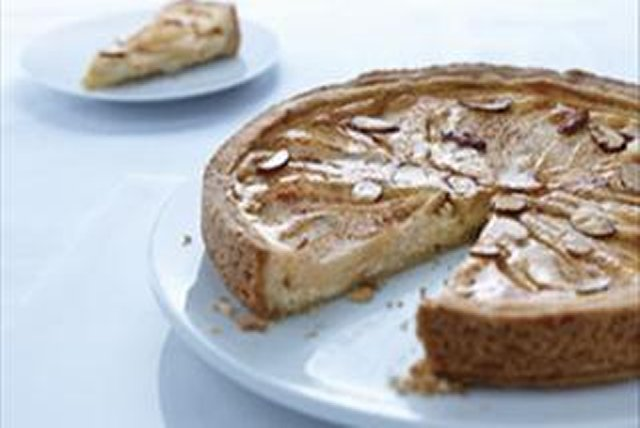 Almond-Pear Cream Cheese Torte Image 1