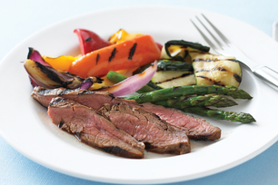 Balsamic-Marinated Flank Steak