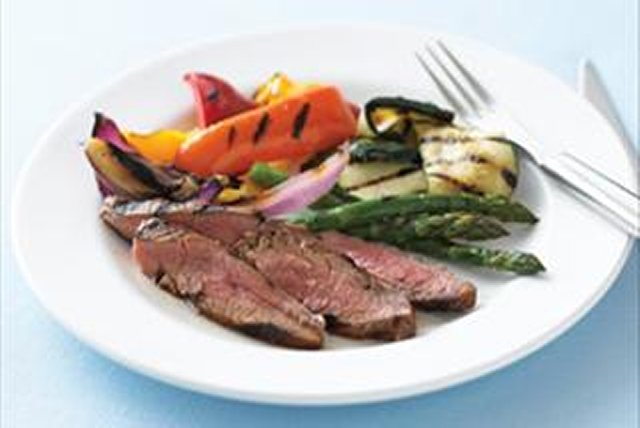 Balsamic-Marinated Flank Steak Image 1