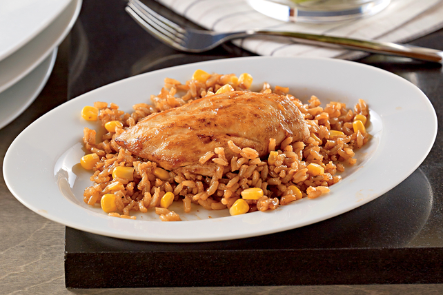 KRAFT BBQ Chicken & Rice Image 1