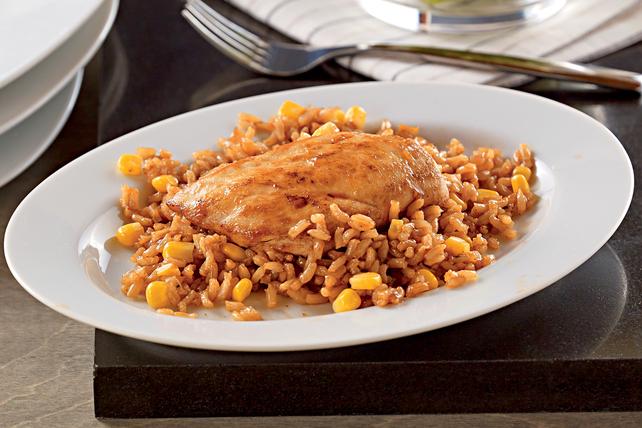 Riz au poulet barbecue KRAFT Image 1