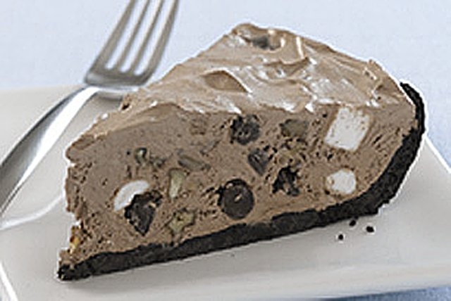 JELL-O Rocky Road Ice Cream Shop Pie Image 1