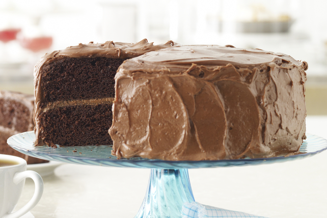 MIRACLE WHIP Fudge Cake Image 1