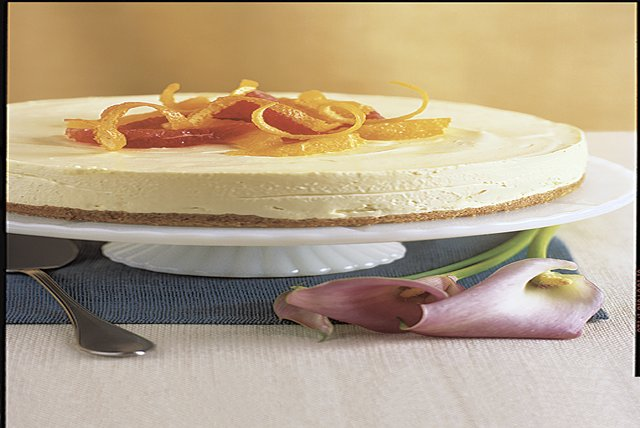 No-Bake Citrus Cheesecake Image 1