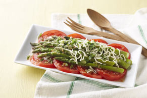 Tomato-Asparagus Salad