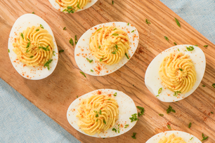 Easy Devilled Eggs