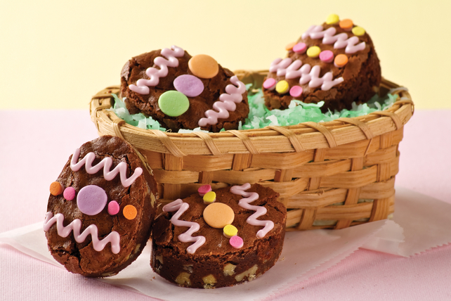 BAKER'S One-Bowl Easter Egg Brownies Image 1