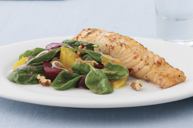 Easy Raspberry-Marinated Salmon Fillet Image 1