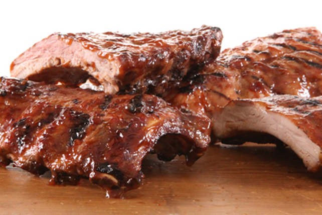 Saucy Foil-Pack Barbecue Ribs Image 1