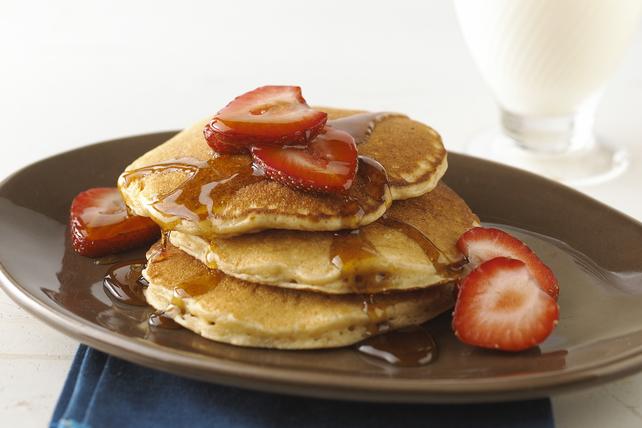 Pleasin' Peanut Pancakes Image 1