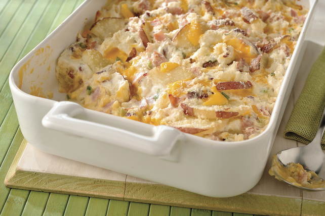 Cheesy Scalloped Potatoes & Ham Image 1