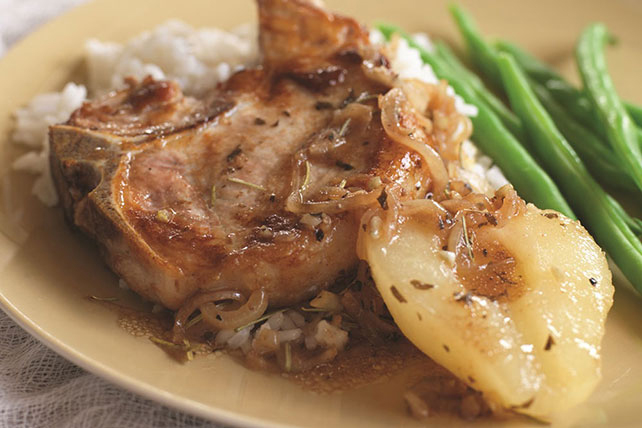 Quick & Easy Pork Chop Skillet Image 1