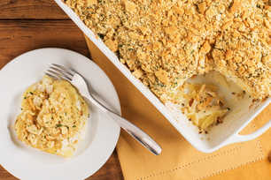 Dijon Scalloped Potatoes