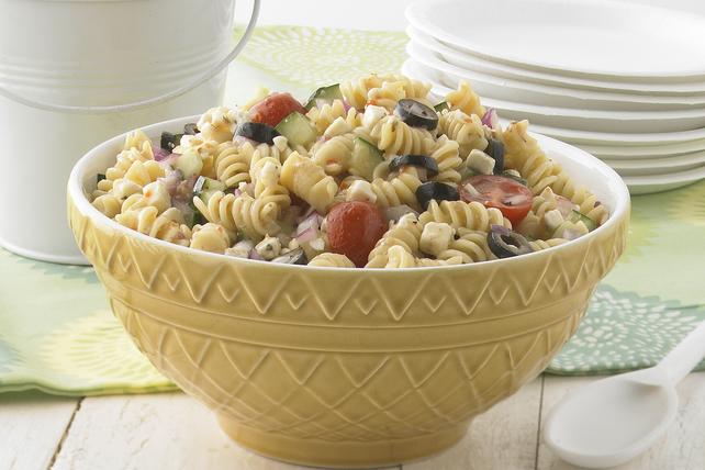 Salade de rotinis aux légumes et au féta Image 1