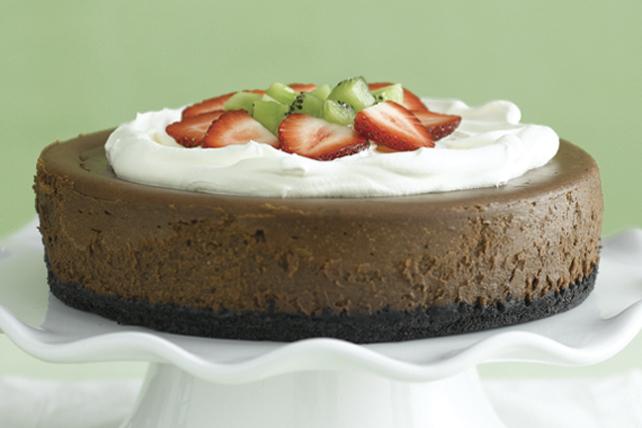 Notre meilleur gâteau au fromage au chocolat Image 1