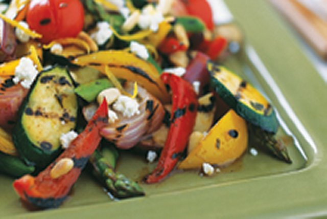 Grilled Vegetable Salad Image 1