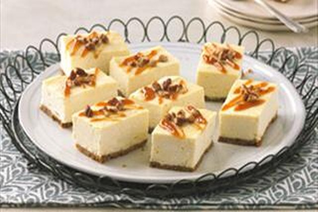 Caramel Cheesecake Bars Image 1