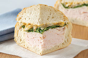 Hearty Turkey Sandwich