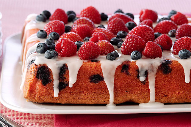 Mixed Berry Pound Cake Image 1
