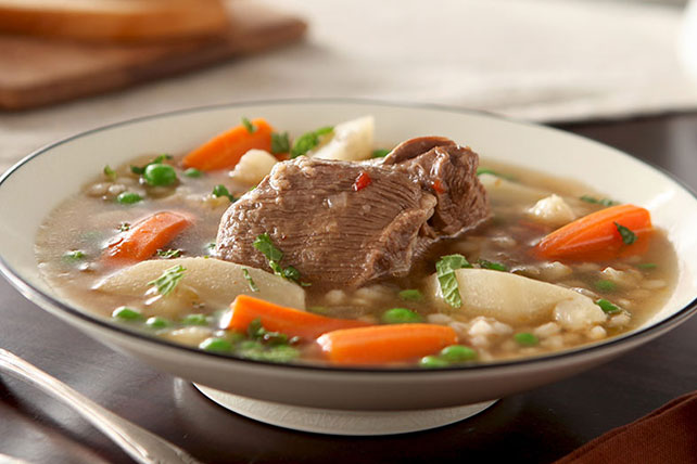 Hearty Vegetable Beef Soup Image 1