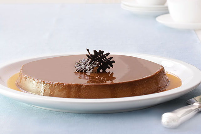 Chocolate Cheesecake Flan Image 1